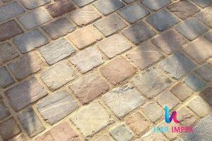 Jodhpur Brown Sandstone Cobbles