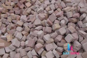 Modak Pink Sandstone Cobbles